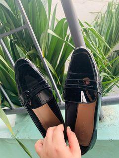 Mango Black Loafers