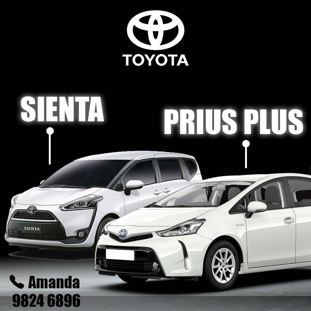 New Toyota Prius Plus Free Rental 18 Days / free $4900 petrol