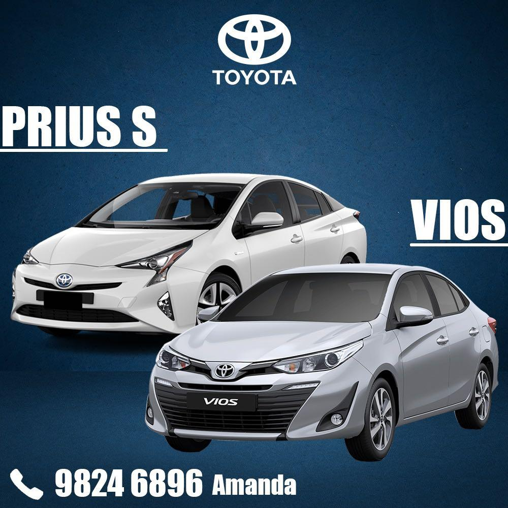 NEW TOYOTA VIOS FOR RENT + $3800 FREE PETROL / 18 DAYS FREE RENTAL PROMOTION