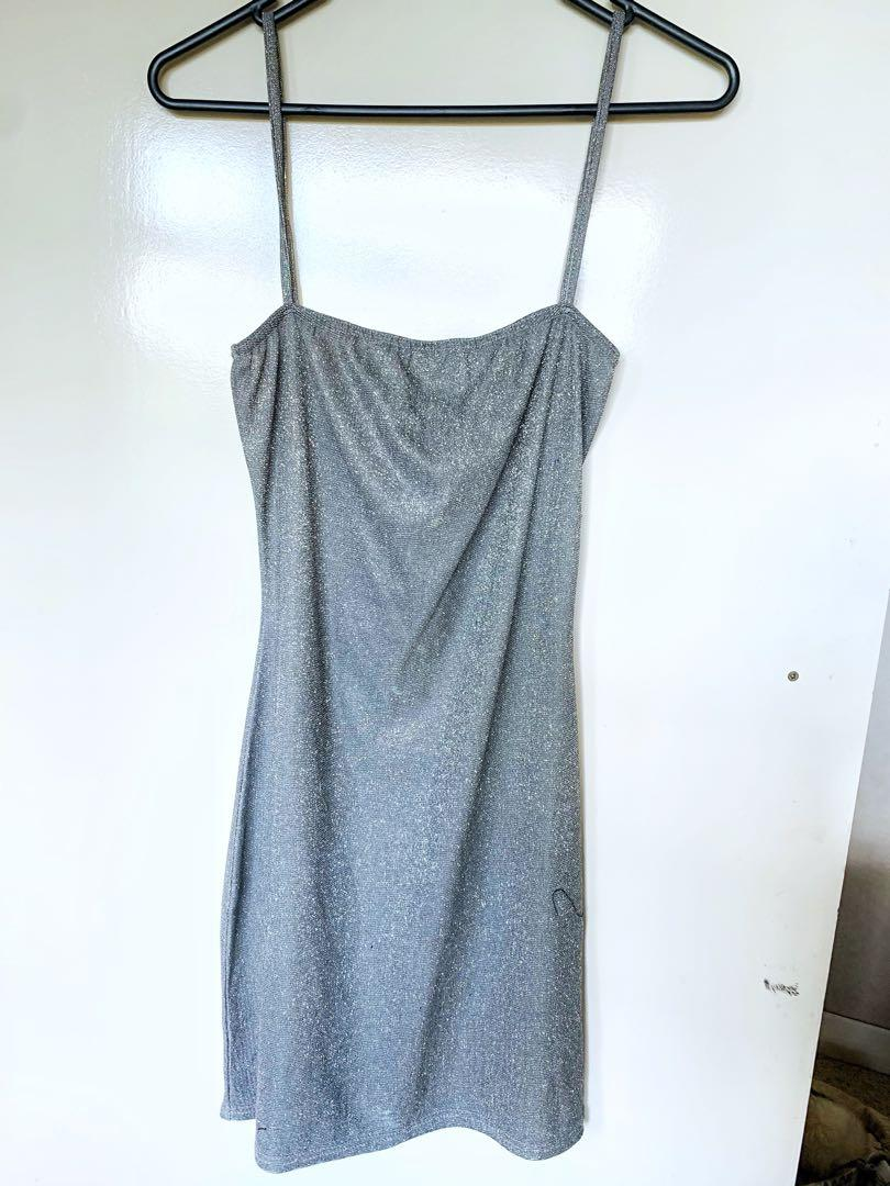 PLT Bodycon Glitter Dress