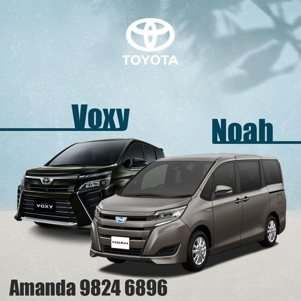 👍Premium MPV Noah sign up with 1-For-1 Petrol Promo👍