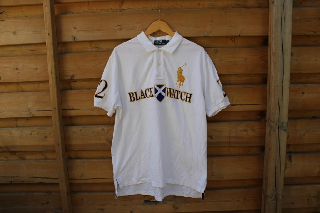 Ralph Lauren Polo Rugby Shirt / Blackwatch