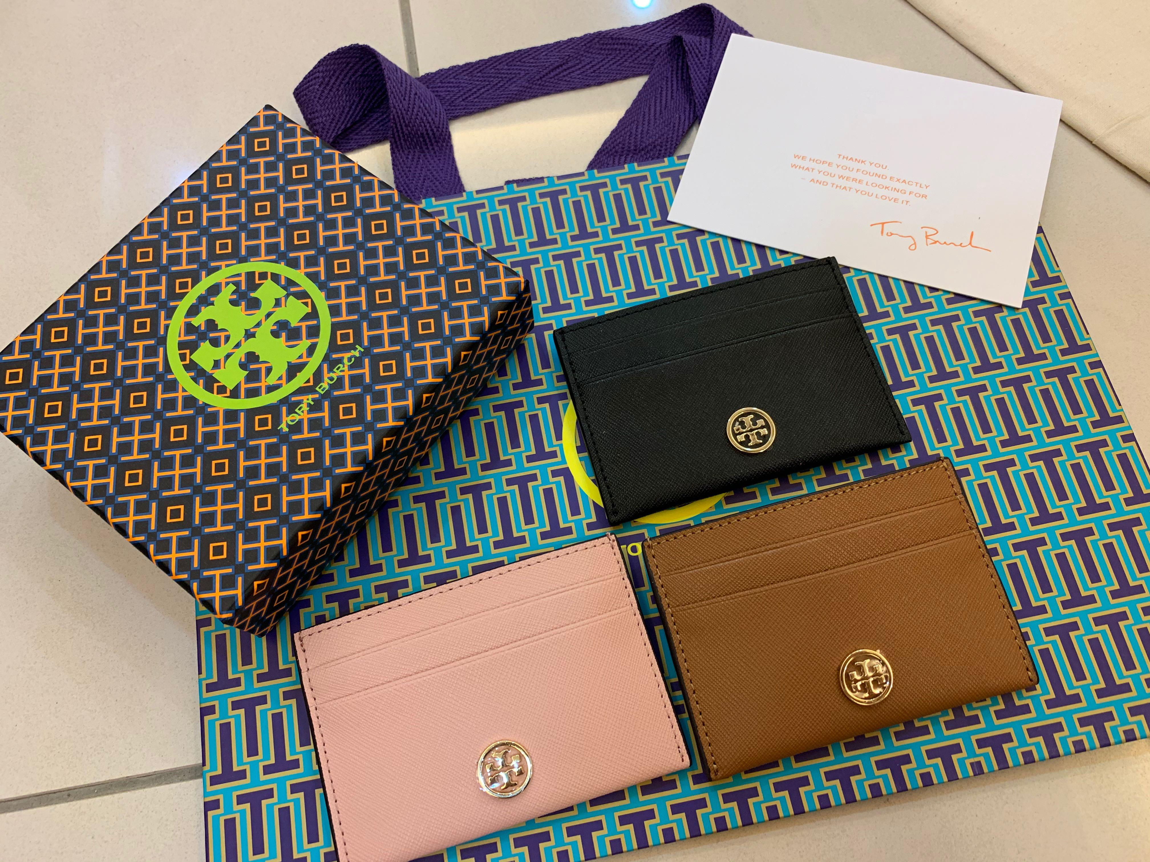 Ready Stock Authentic Tory Burch card case