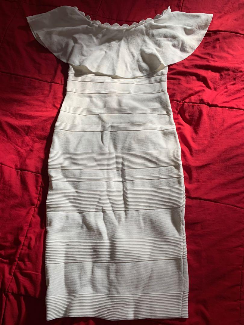 White dress size8