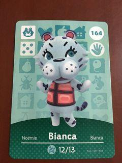 動森卡amiibo 164 Bianca