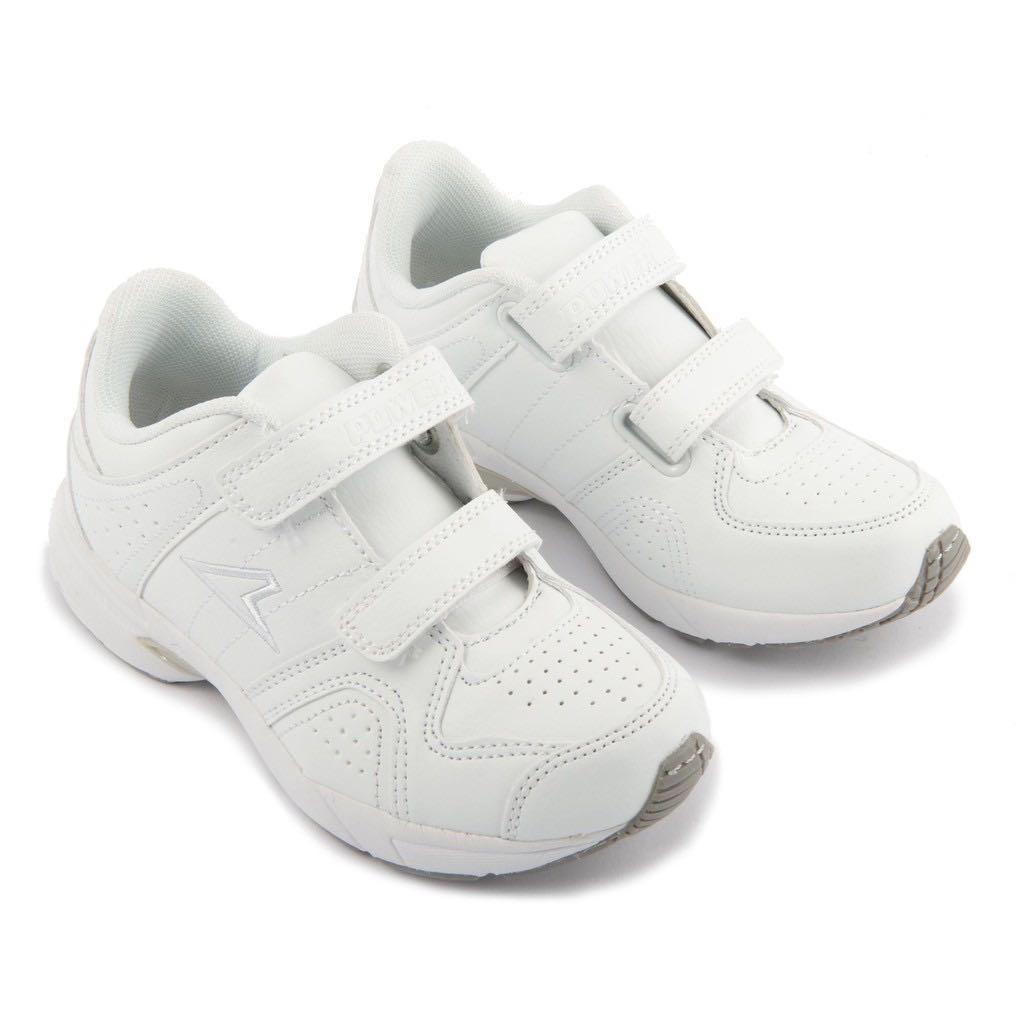 BN UK3 EU36 Power School Shoes White
