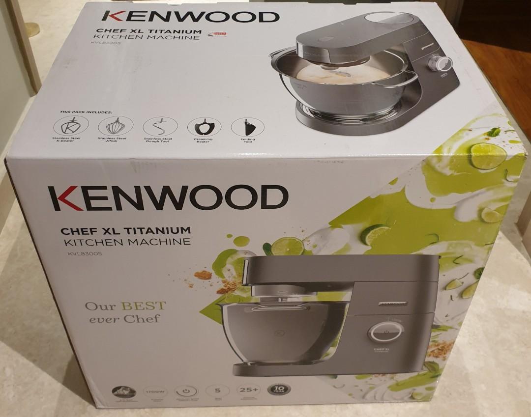 Brand New Kenwood Chef Xl Titanium Kitchen Machine Home Appliances Kitchenware On Carousell