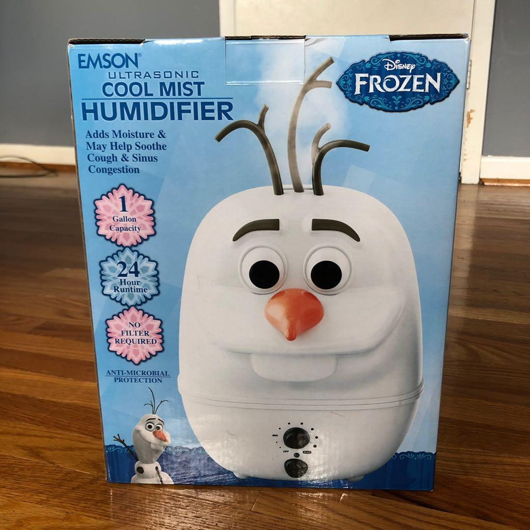 LIKE NEW! Cool Mist Humidifier - Disney Frozen Olaf