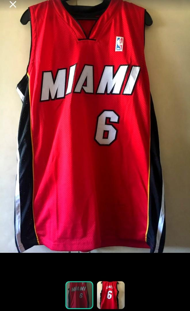 Miami Heat Lebron Jersey Sports Athletic Sports Clothing On Carousell
