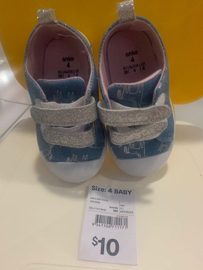 NEW - Kmart Girl's Shoes, Babies \u0026 Kids