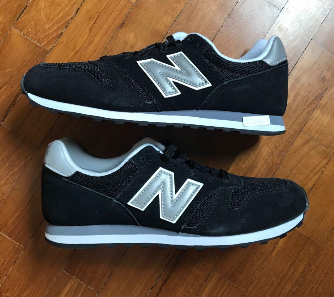 New Balance leather sneakers 373, Men's