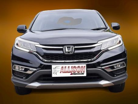 New Honda CRV 2.0 AT 2017 Hitam, Dp 51,9 Jt, No Polisi Genap