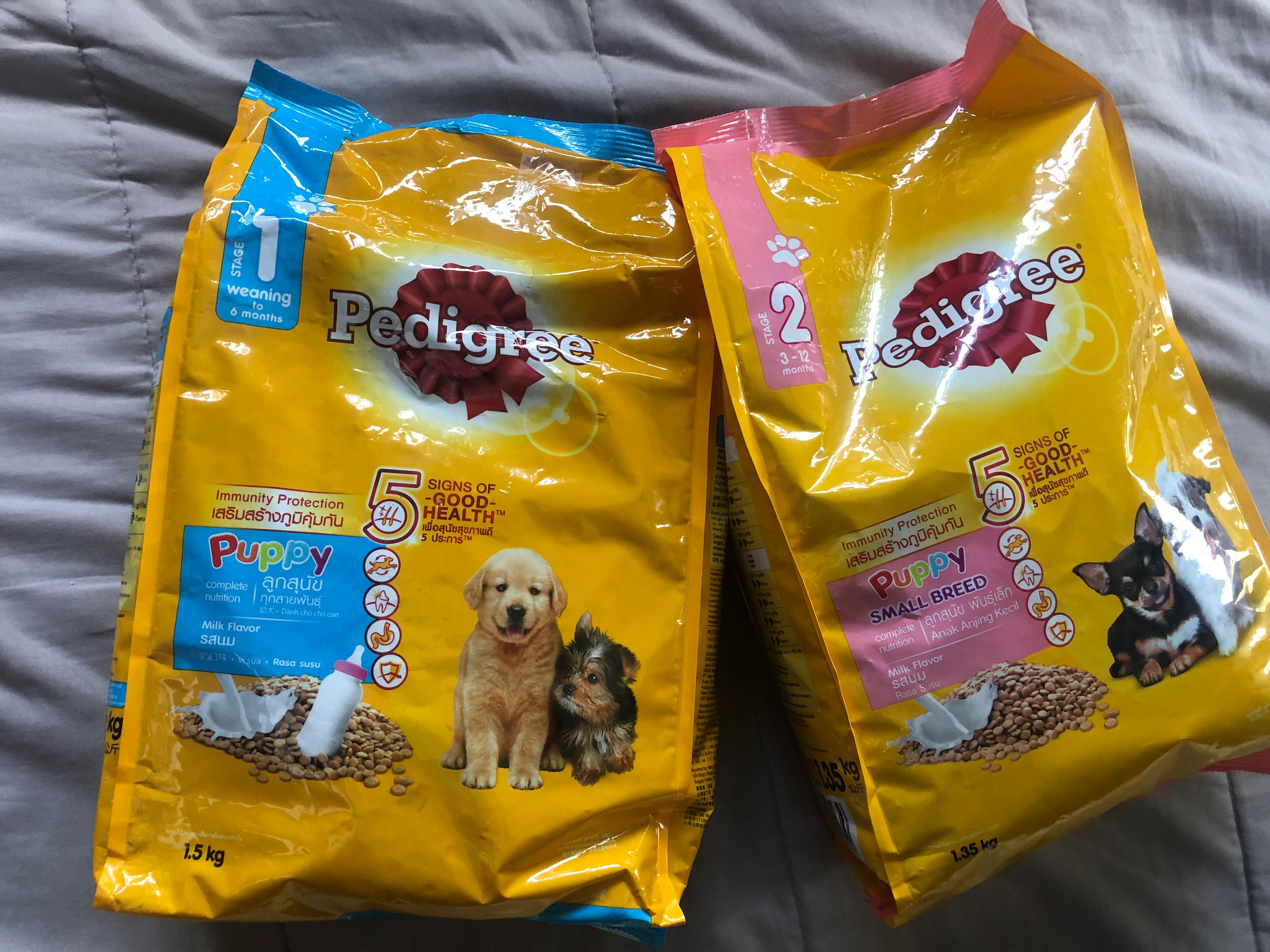 Pedigree Dog Food for Puppy, Pets