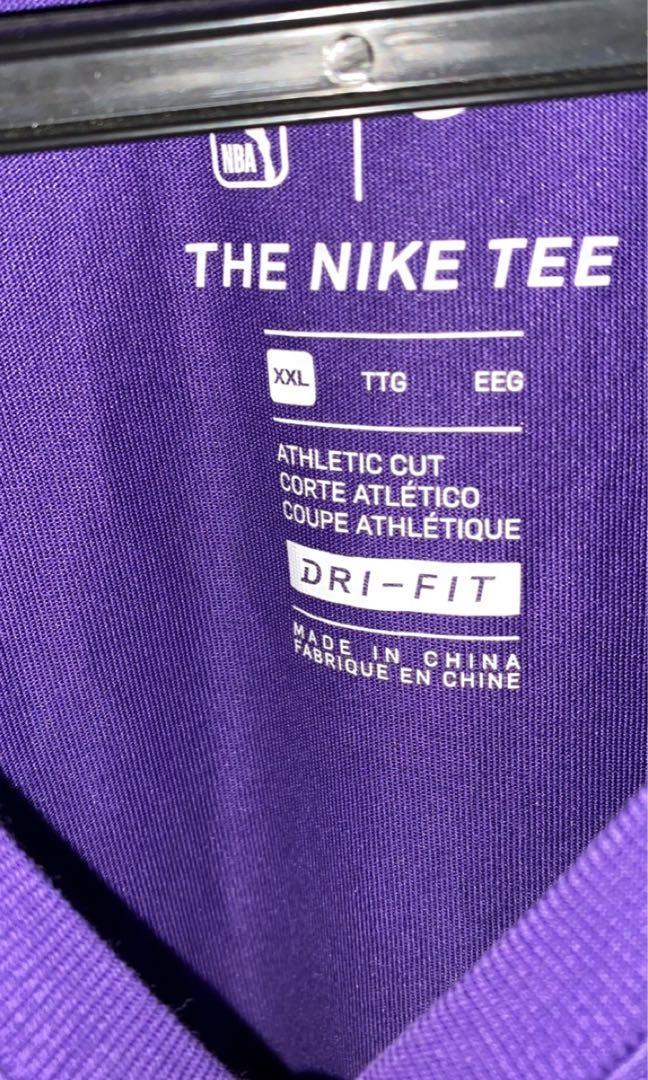 Purple Lakers t- shirt