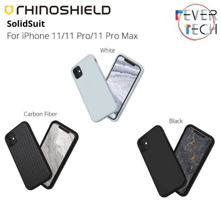 Rhinoshield Solidsuit For Iphone 11 11 Pro 11 Pro Max Mobile Phones Tablets Mobile Tablet Accessories Cases Sleeves On Carousell