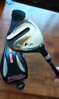 Royal Collection JP104 golf 7 fairway wood 20度 Tour AD S 桿身 99% NEW