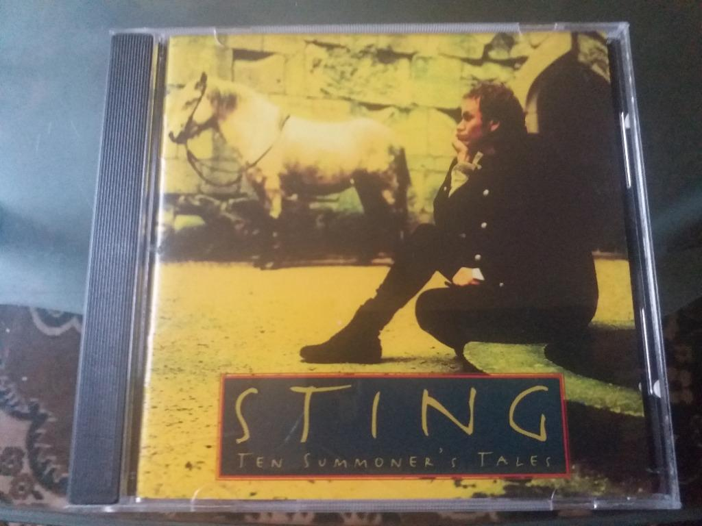 Sting Ten Summoner S Tales Cd Music Media Cd S Dvd S Other Media On Carousell