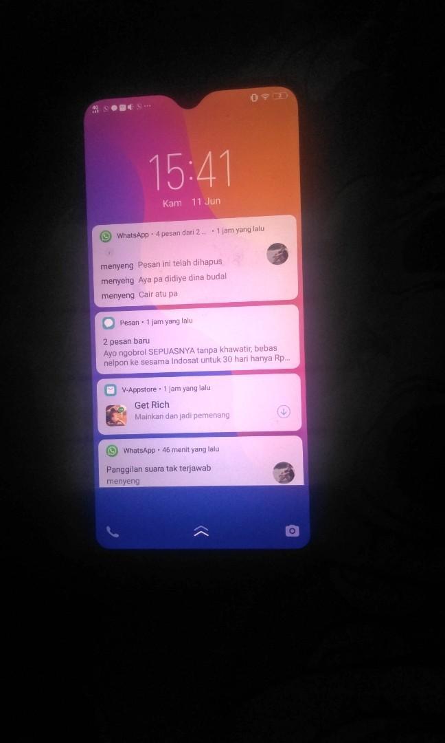 Vivo 1820 Bekas Batangan Telepon Seluler Tablet Ponsel Android Lainnya Di Carousell