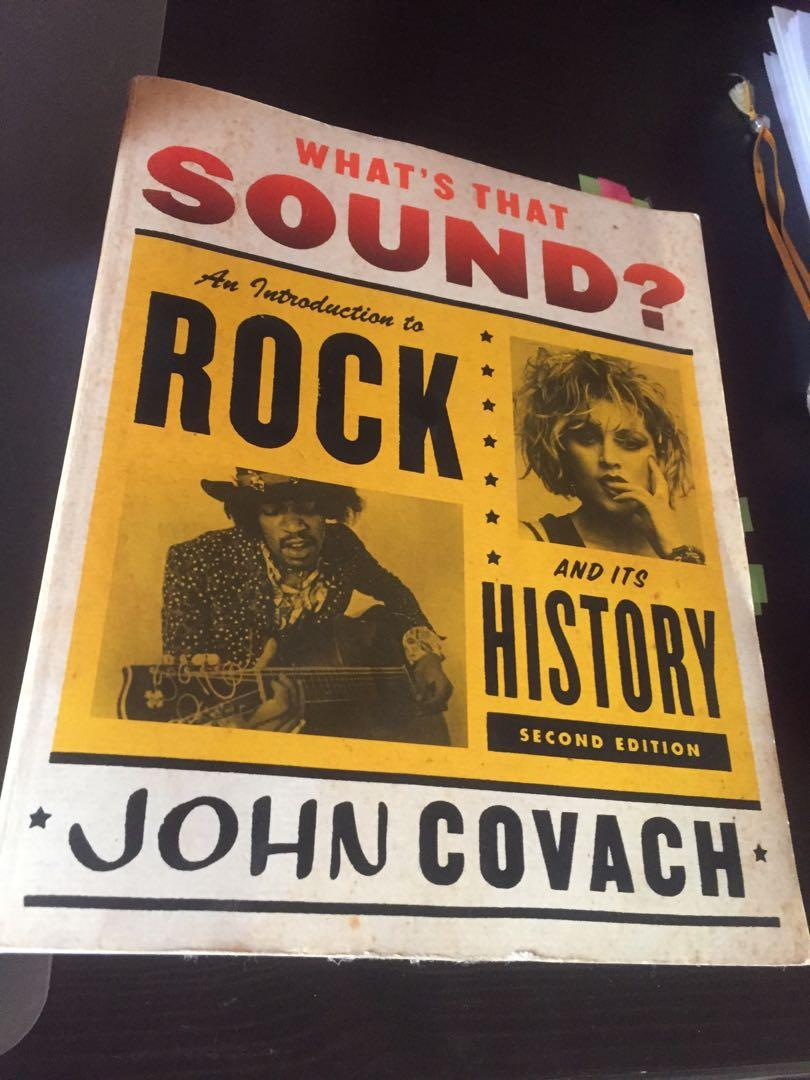 What's that sound? Rock and it's history