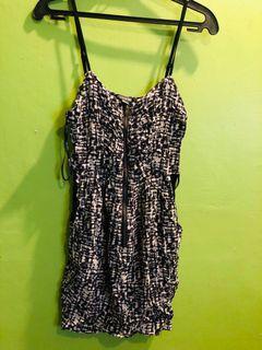 Forever21 zipper front dress