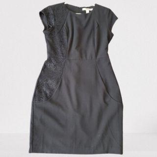 Forever 21 Black Lace Detail Dress Small