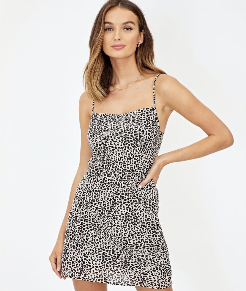 Glassons leopard dress - size 6