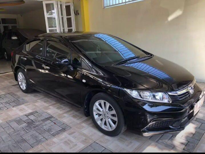 Honda Civic 1.8 tahun 2014 (NEGO) hitam KM 60.xxx mulus terawat