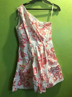 Jessica simpson floral one side dress
