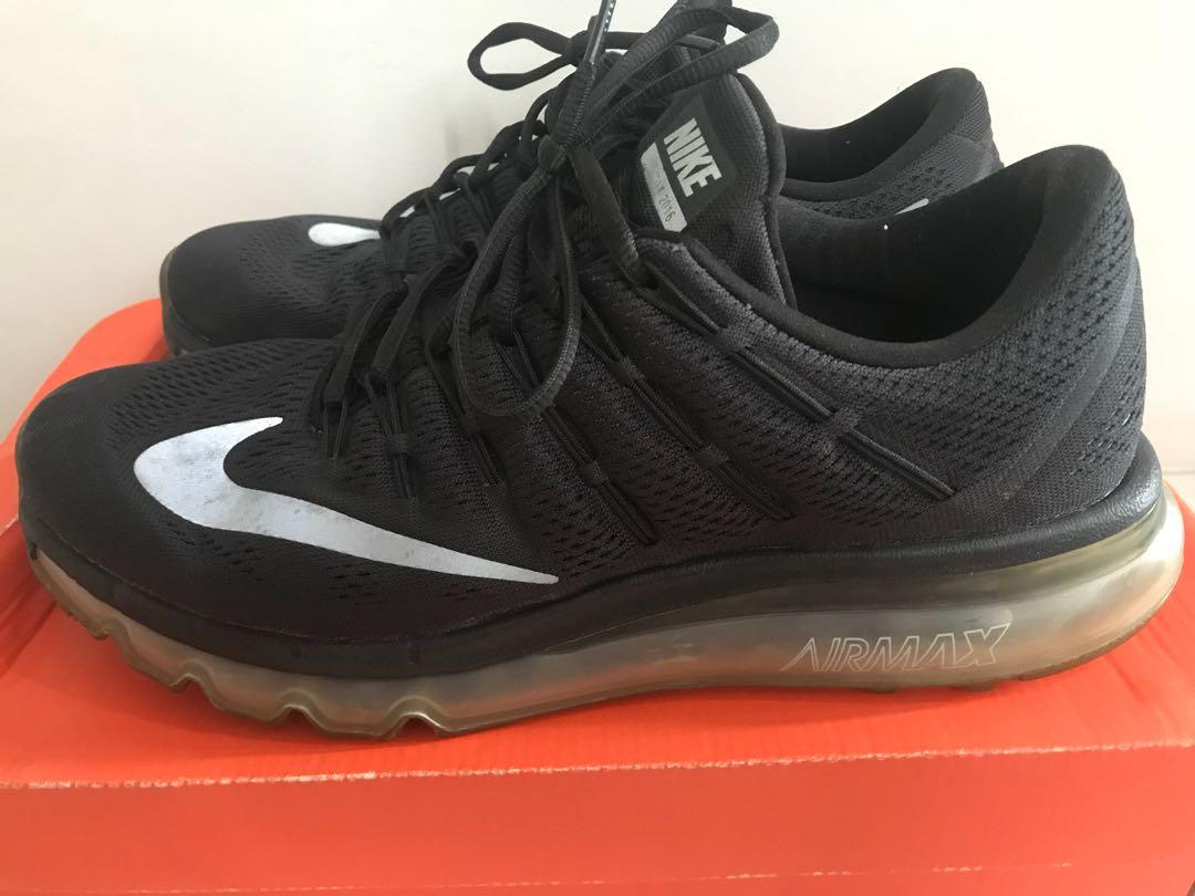 Nike Air Max 2016 Black Dark Grey, Men