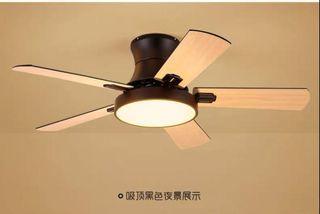 Northern European Ceiling Fan Light / 北歐式吊扇燈