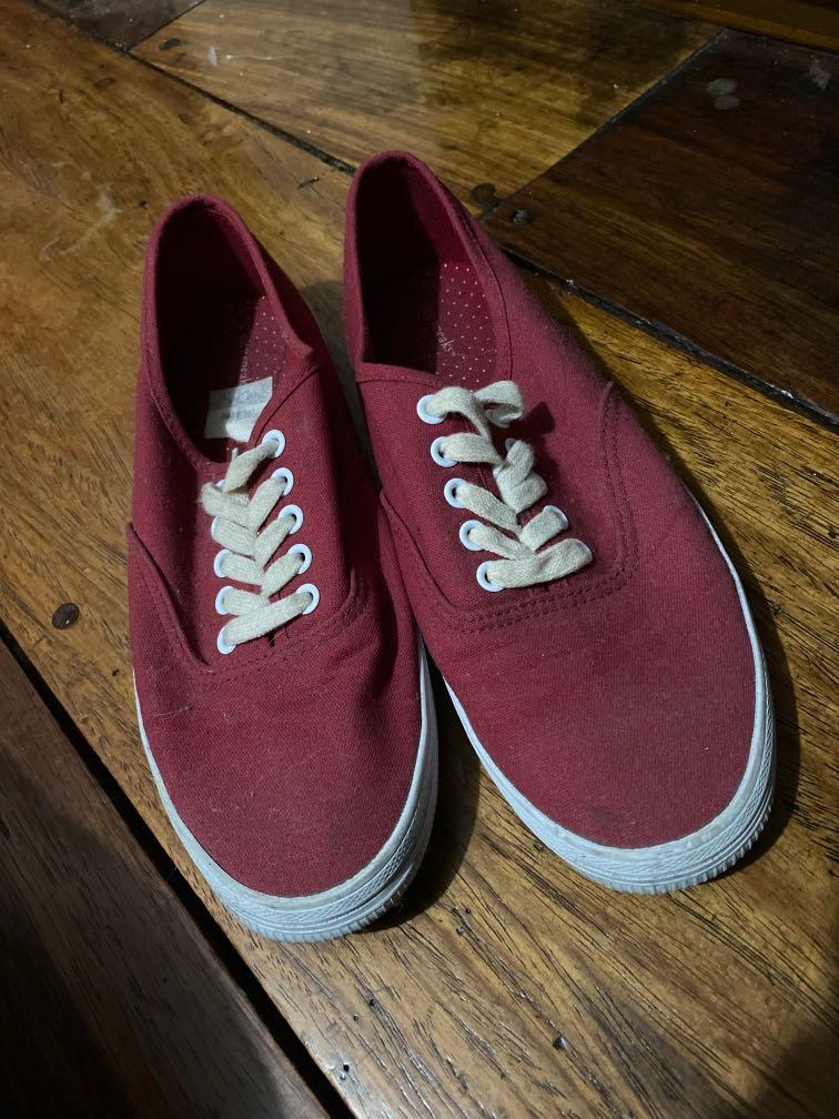 Payless Red Sneakers, Women's Fashion