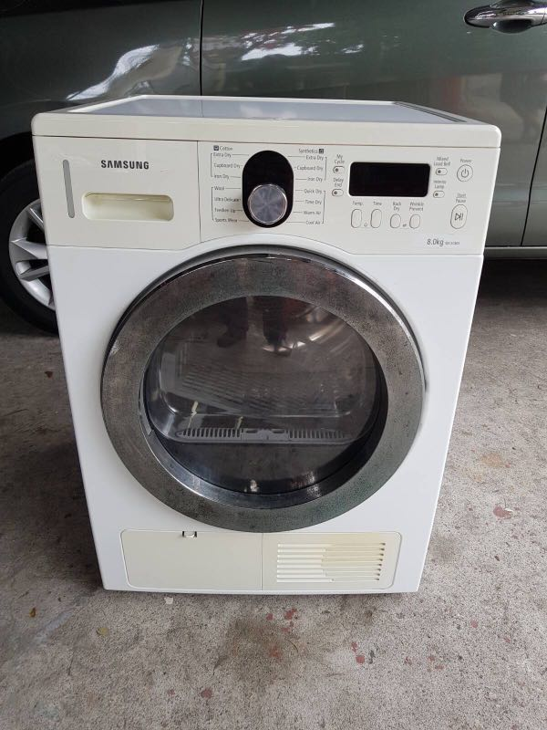 Samsung Dryer Machine 8kg Home Furniture Home Appliances Washing Machines And Dryers On Carousell