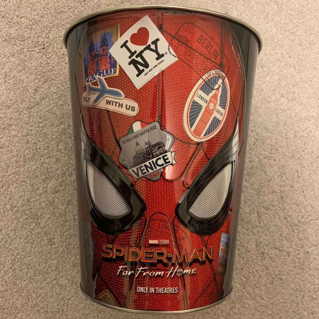 Spider Man Far From Home Movie Tin