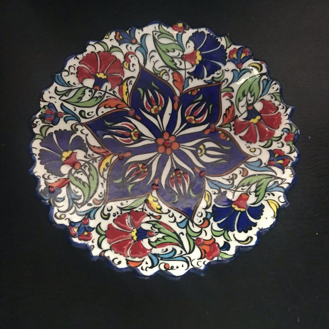 Turkish Plates Can Be For Wall Display Furniture Home Decor Others On Carousell