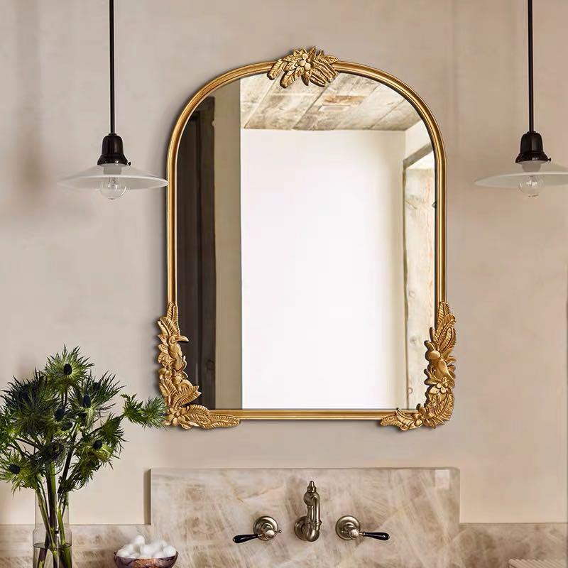Baroque Style Gold Wall Mirror Mira, Baroque Style Gold Mirror