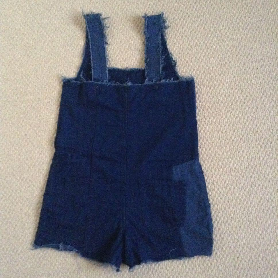 zara overall shorts