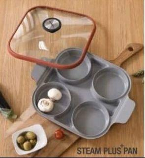 韓國Neoflam 雙耳四格多功能煎鍋含蓋 28 公分