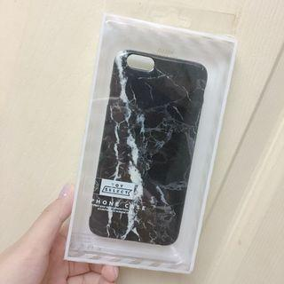 黑色大理石紋手機殼 iphone6 4.7