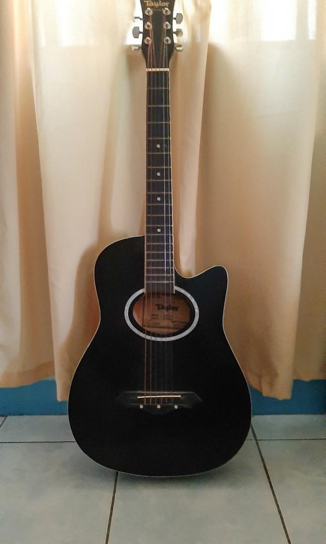 Acoustic Guitar By Vince Taylor Guitars Music Media Music Instruments On Carousell
