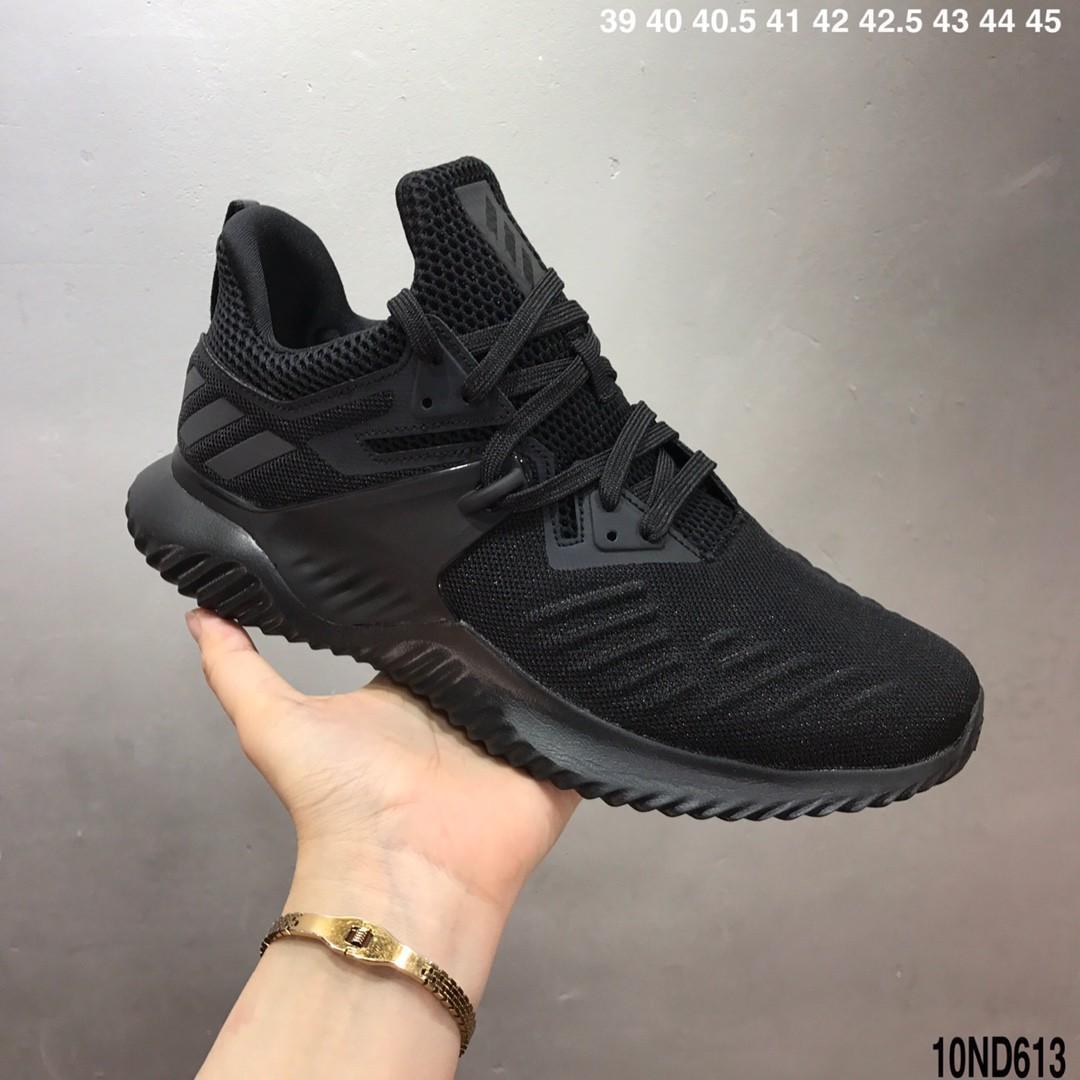 Adidas Alpha Bounce Triple Black, Men's