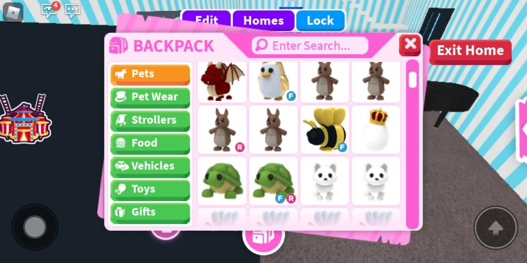 Adopt Me Pets For Sale Toys Games Video Gaming Video Games On Carousell