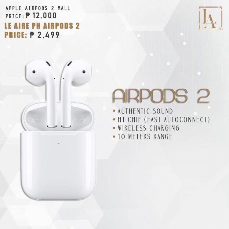 Airpods 2 Electronics Audio On Carousell
