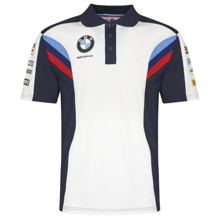 Bmw Motogp Polo Tee Motorcycles Motorcycle Apparel On Carousell