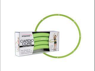 Cardio core fitness hoop