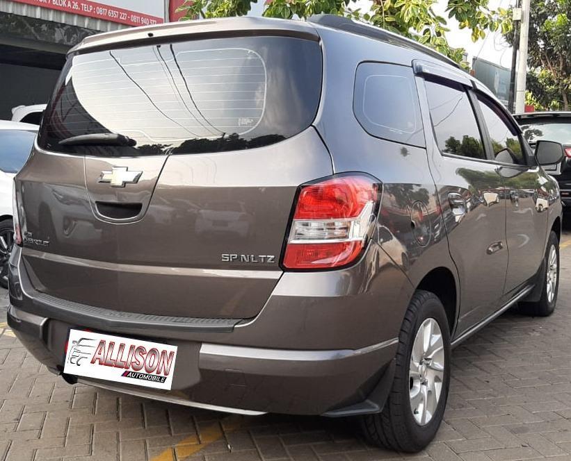 Chevrolet Spin 1.3 Manual Diesel 2014 Abu Abu No pol Ganji