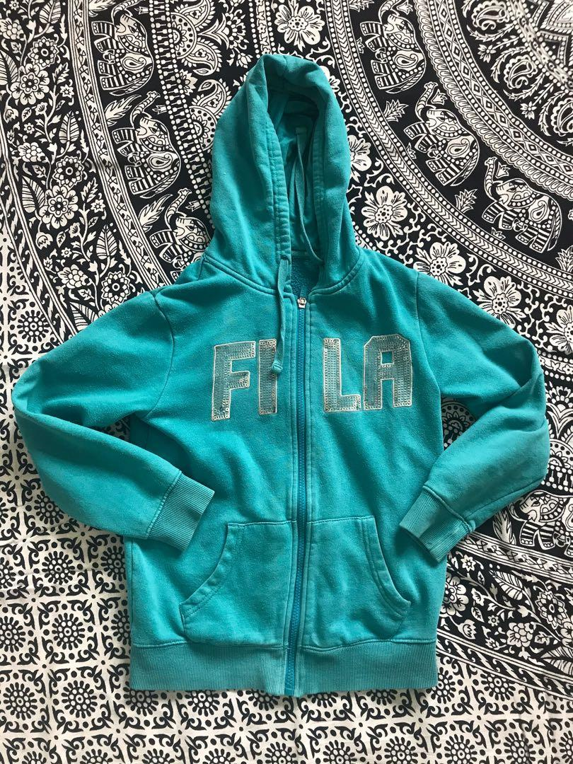 Kid's Fila Zip Up Hoodie