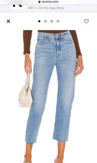 Levi's wedgie straight leg jeans size 26
