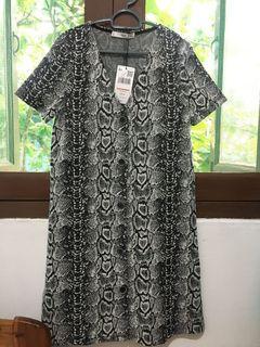 Mango Mini Buttoned dress