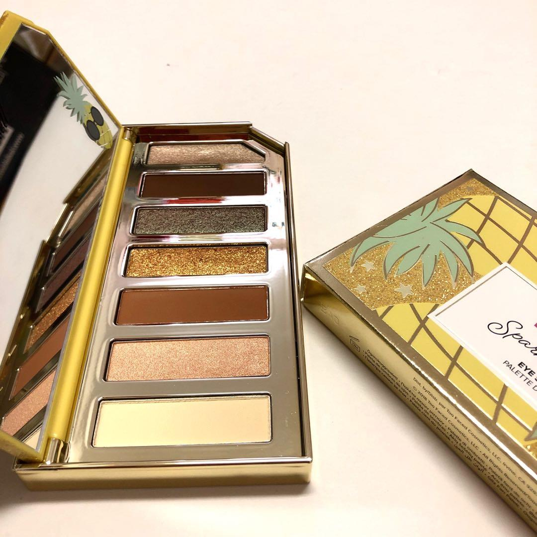 NEW Too Faced Tutti Frutti pineapple eyeshadow palette