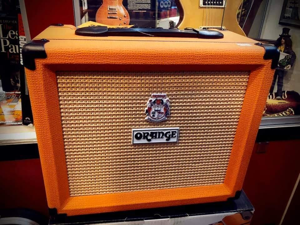 Orange Crush 20 Electric Guitar Combo Amplifier 2 Channel 20 Watt 1 x 8 Amp